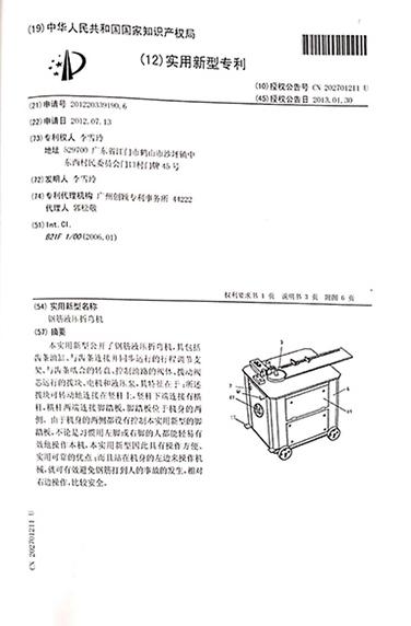 12实用型专利